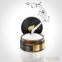 Maska Nanoil z keratyną – na ratunek zniszczonym włosom